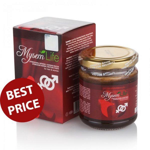 Mysem Epimedium Turkish Honey Mix - Unisex Turkish Paste, 240gr