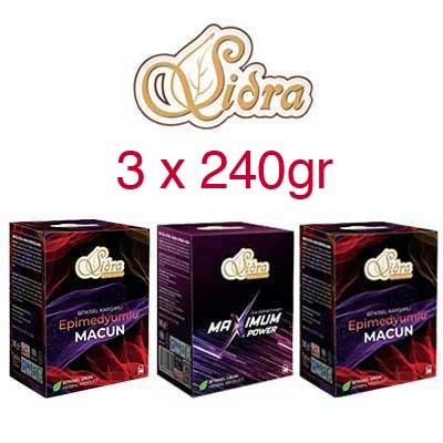 Sidra Pack - 3 x 240g