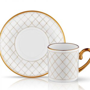 Eva Quilted - Coffee Set of 6 Cup (12 Pcs)