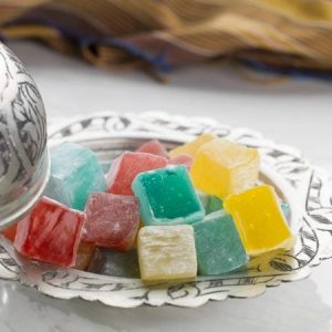 Hard Consistency Turkish Delight with Fruity