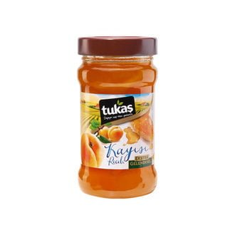Tukaş Apricot Jam, 13.4oz - 380g