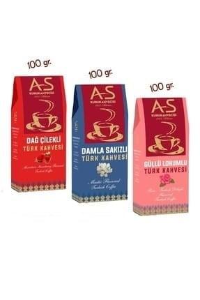 As Coffee-Turkish Coffee Gourmet 1, 3 x 100g (3.52oz)