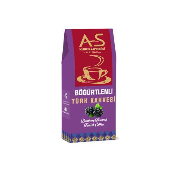 As Coffee-Turkish Coffee with Blackberry, 3.5oz - 100g