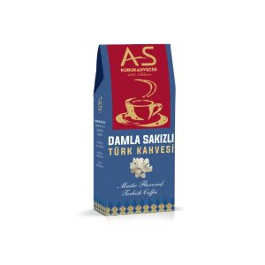 As Coffee-Turkish Coffee with Mustic Gum, 3.5oz - 100g