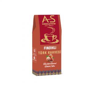 As Coffee-Turkish Coffee with Hazelnut, 3.5oz - 100g