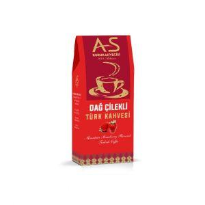 As Coffee-Turkish Coffee with Mountain Strawberry, 3.5oz - 100g
