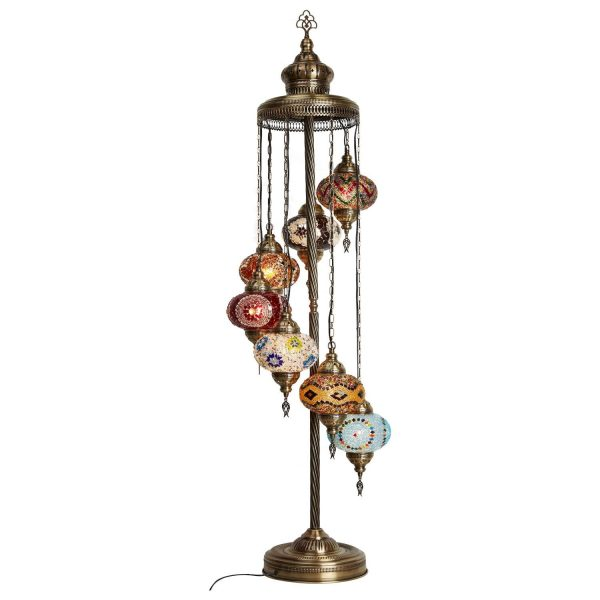Authentic Footed Floor Lamp