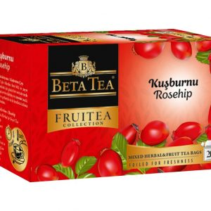 Rosehip Tea 20 x 2.5g - Beta Fruitea Collection