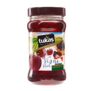 Tukaş Cherry Jam, 13.4oz - 380g