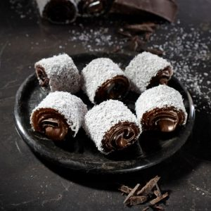 Chocolate Coconut Covered Turkish Delight