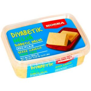 Diabetic Plain Halva, 12.34oz - 350g
