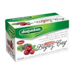 Dogadan - White Tea with Cranberry, 20 Tea Bags