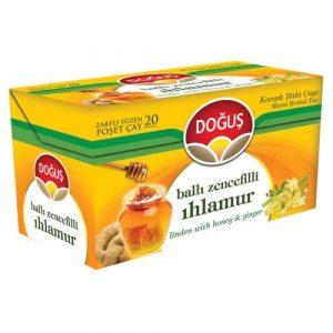 Dogus - Linden Tea with Ginger and Honey, 20 Tea Bags
