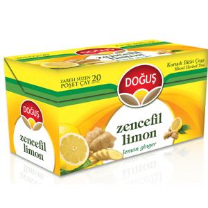 Dogus - Ginger Tea with Lemon, 20 Tea Bags