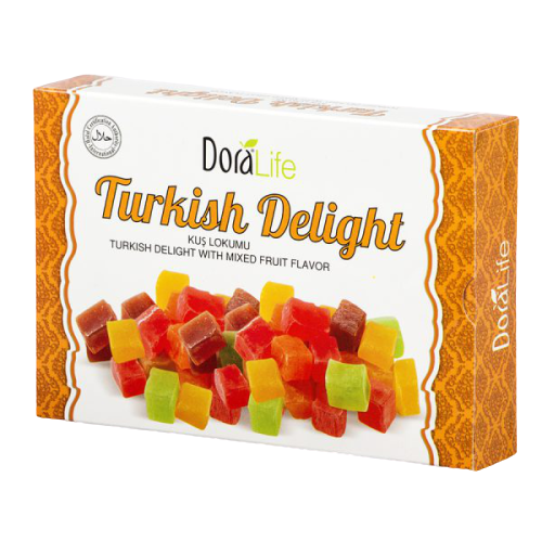 DoraLife - Tiny Turkish Delight with Mix Fruit Flavour