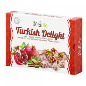 DoraLife - Turkish Delight with Pomegranate Flavour