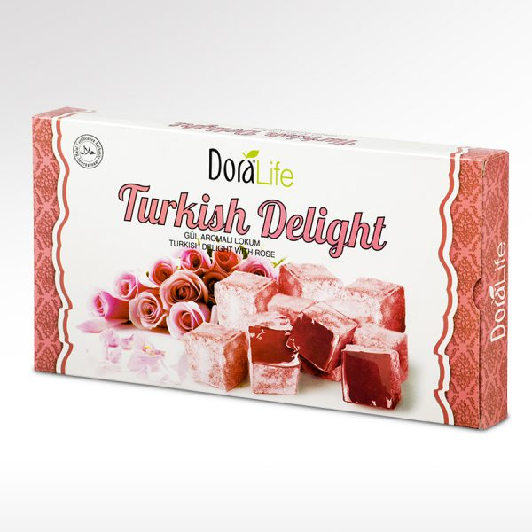 DoraLife - Turkish Delight with Rose Flavour