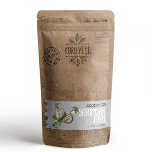 Kuru Yesil - Organic Garlic Powder, 3.52oz - 100g
