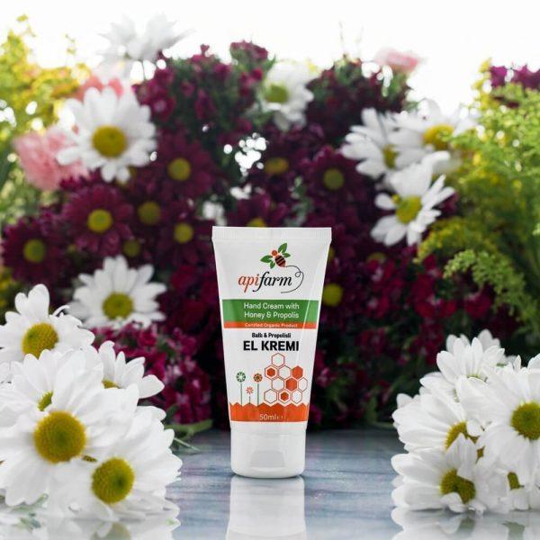 Apifarm Hand Cream with Organic Honey and Propolis