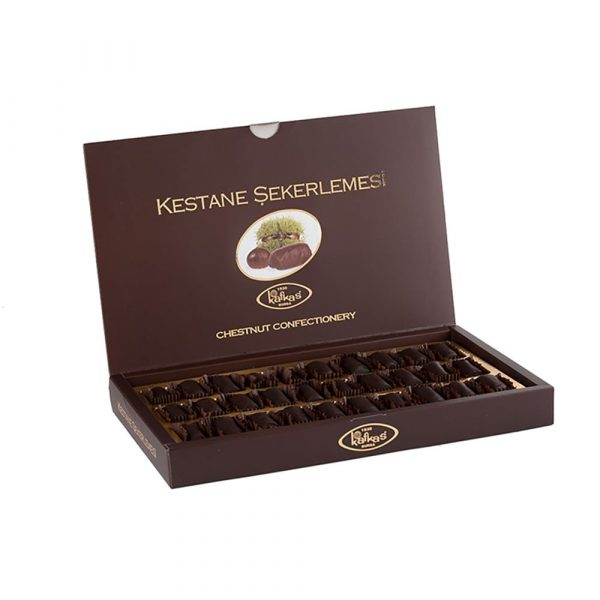 Candied Chestnut with Chocolate by Kafkas, 17.63oz - 500g