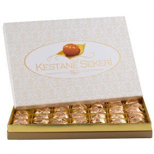 Candied Chestnut Gift Box by Kafkas