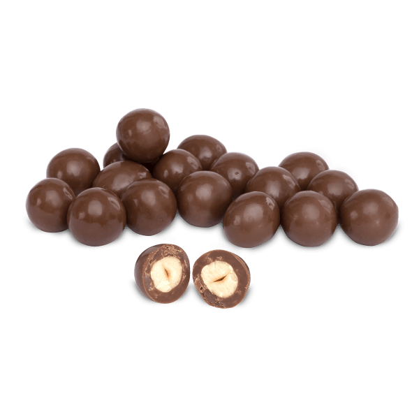 Hazelnut Dragee Covered with Milk Chocolate, 7.05oz - 200g