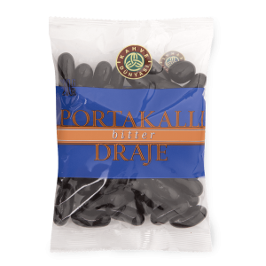 Orange Dragee Covered with Bitter Chocolate, 8.1oz - 230g