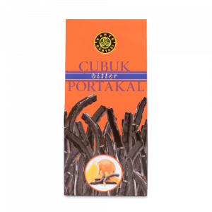 Orange Stick Covered with Bitter Chocolate, 8.81oz - 250g