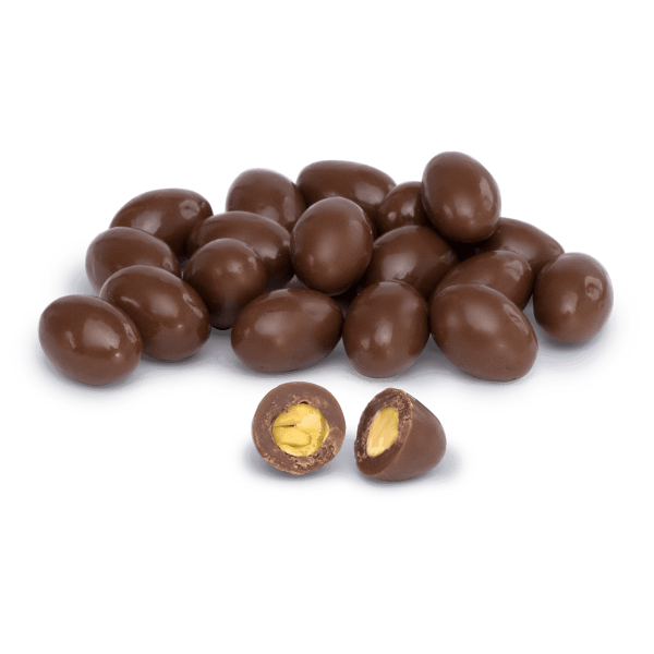Pistachio Dragee Covered with Milk Chocolate, 6.34oz - 180g