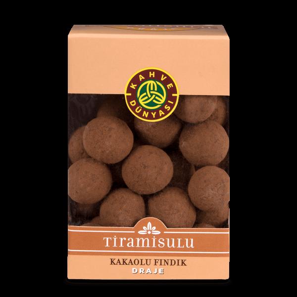 Tiramisu Flavor Dragee with Hazelnut, 3.5oz - 100g