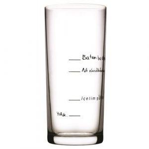Let's Drink, Let's Be Beautiful Raki Glass x 6