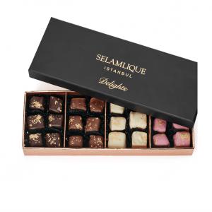 Selamlique Luxury Turkish Delight Mixed, 8.81oz - 250g