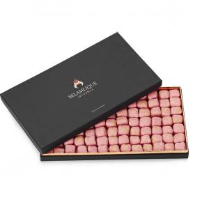 Selamlique Luxury Turkish Delight with Rose, 31.39oz - 890g