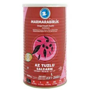 Marmarabirlik Hyper Less Salty Black Olive