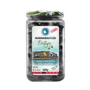 Marmarabirlik Trilye Oily Pickled Black olives