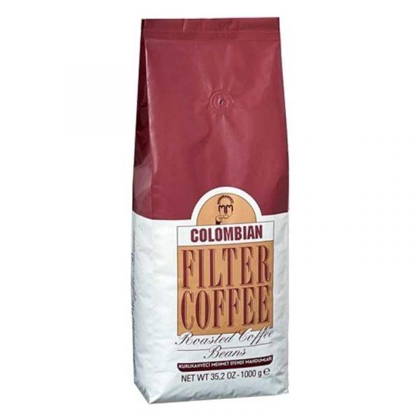 Coffee Roasted Coffee Beans by Mehmet Efendi, 35oz - 1kg