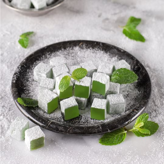 Mint Flavored Turkish Delight, 8.81oz - 250g