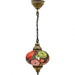 Mosaic Lamp, Colorful