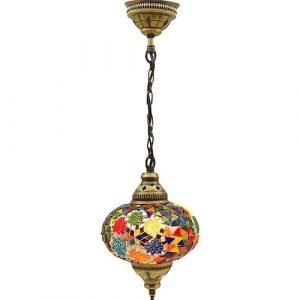 Mosaic Lamp, Mixed Colors