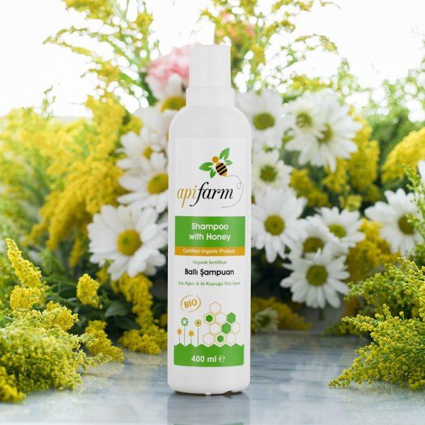 Apifarm Organic Honey Shampoo