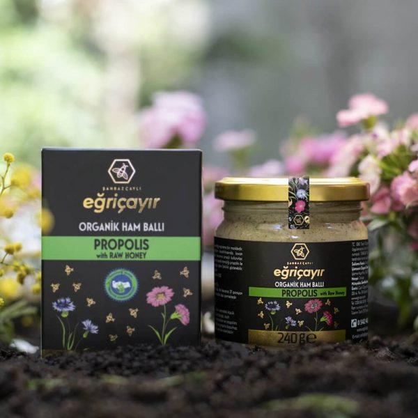 Organic Raw Honey Propolis, 8.46oz - 240g