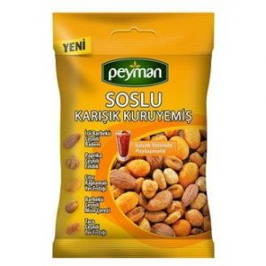 Peyman Mixed Nuts with Sauce