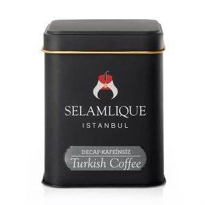 Selamlique Decaf Turkish Coffee Box, 4.41oz - 125g