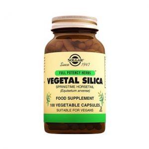 Solgar Vegetal Silica 100 Capsules