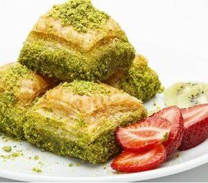 Dried Baklava with Pistachio