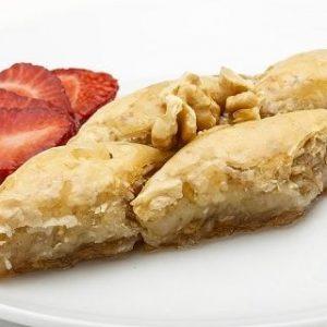 Homemade Baklava with Walnut