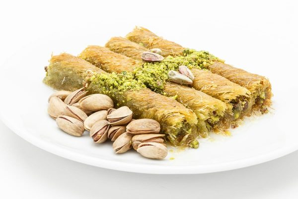 Wrap Kadayif with Pistachio