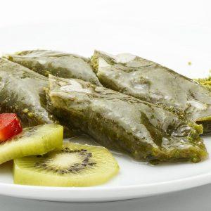 Leaf Shobiyet with Pistachio