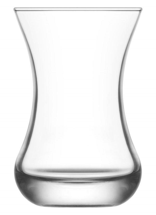 Asena Style Turkish Tea Glass Set (6 Pcs)