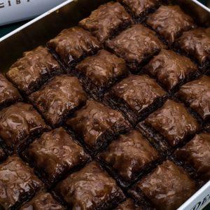 Baklava with Chocolate Pistachio (L Box)